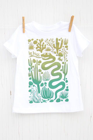 Le Hiss - White Kid's T-shirt