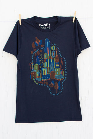 Imagination Station - Navy Men's T-shirt