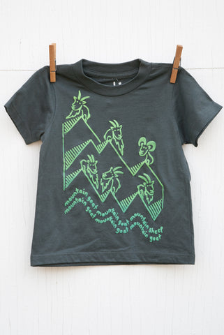 Mountain Goat Mountain Goat - Asphalt Kid's T-shirt