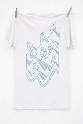 Mountain Goat Mountain Goat - Oatmeal Unisex T-shirt