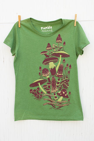 Mushrooms - Kiwi Women's T-shirt