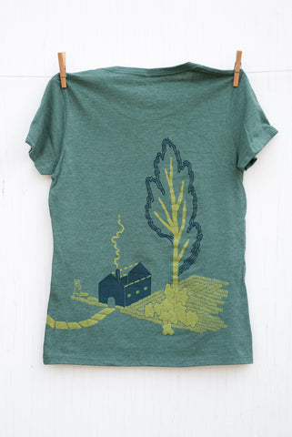 Strange Neighbours - Pine Women's T-shirt