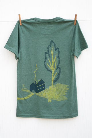 Strange Neighbours - Pine Unisex T-shirt