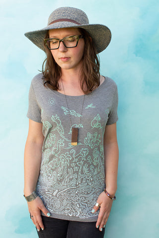 Sea to Sky - Cloudburst Women's T-shirt