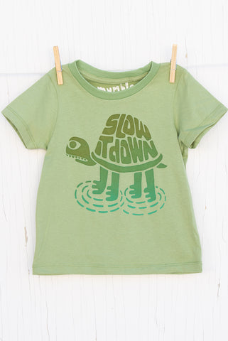 Slow It Down - Avocado Kid's T-shirt