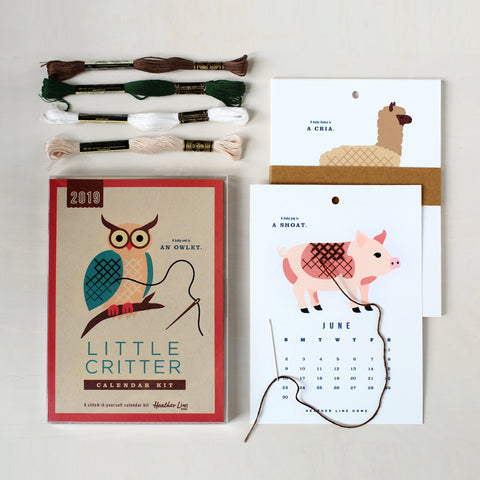 2019 Little Critter Calendar Kit