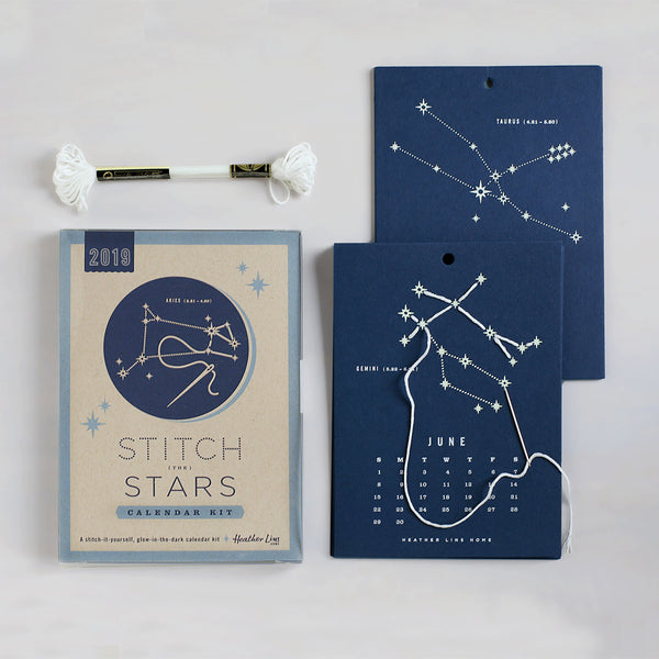 Stitch the Stars Calendar Kit