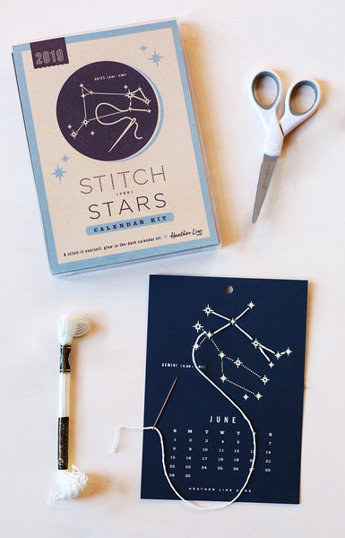 2019 Stitch the Stars Calendar Kit
