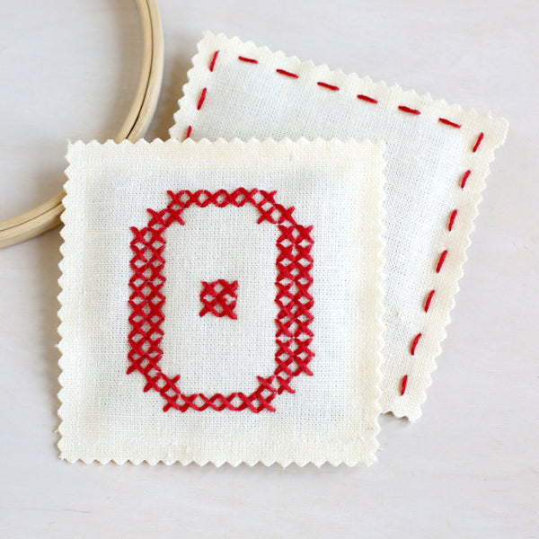 Letter O - Stitch Your Own Sachet Kit
