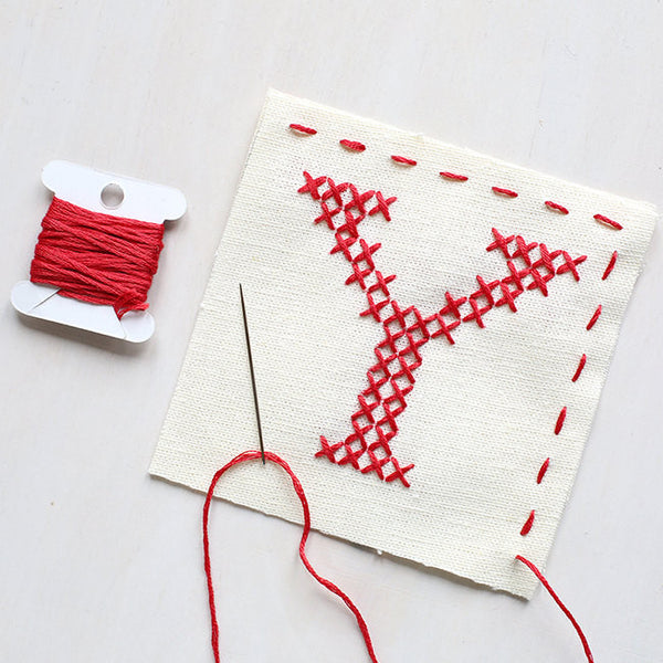 Letter Y - Stitch Your Own Sachet Kit