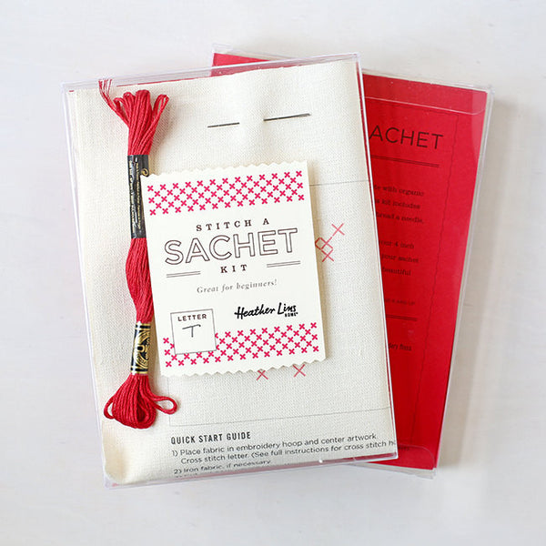Letter A - Stitch Your Own Sachet Kit