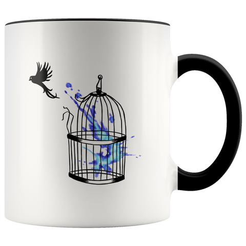 Break Free Child Abuse Awareness Mug