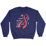 My Mom's Battle Is My Battle - Breast Cancer Awareness T-Shirt