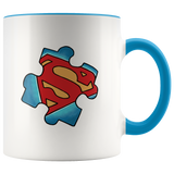 Autism Superman Mug