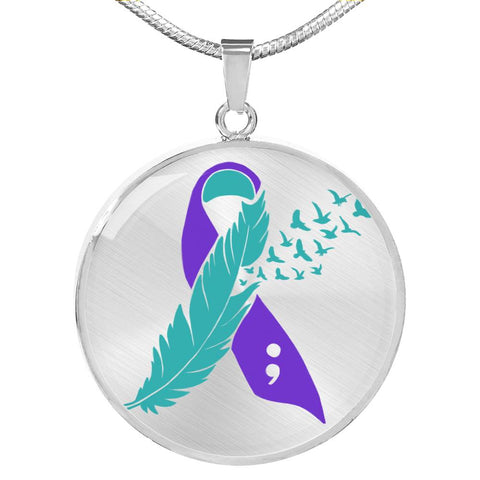 Sexual Abuse Awareness Necklace