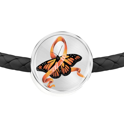 Leukemia Awareness Butterfly Bracelet