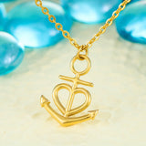 Hope Anchors The Soul Anchor Necklace