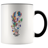 Cute Autism Awareness Elephant Mug