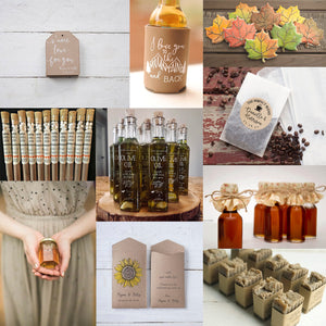 Ten Lovely Wedding Favors for Fall