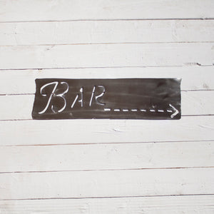 BAR Metal Sign - Rustic Bar Sign - Industrial Sign - Farmhouse Sign