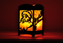 Santa Claus Light Box - Multicolor LED Candle