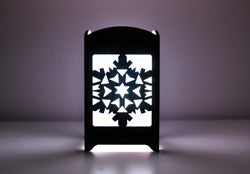Snowflake Light Box - Multicolor LED Candle
