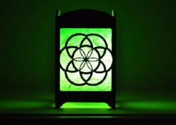 Seed of Life Light Box - Multicolor LED Candle