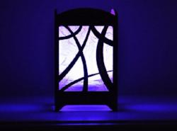 Abstract Swoop Light Box - Multicolor LED Candle