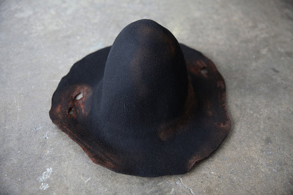 Burned Hat
