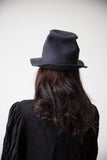 Grey Wool Felt Hat no.115