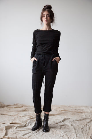 Cotton-Silk Trousers