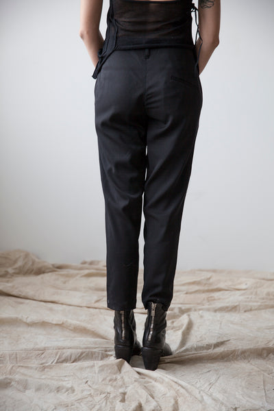 Darted Slim Trousers