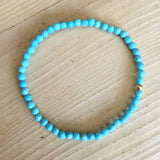 gemstone bead bracelet