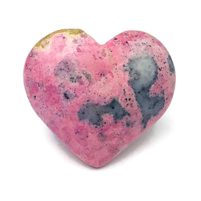 RHODOCROSITE HEART for SELF LOVE