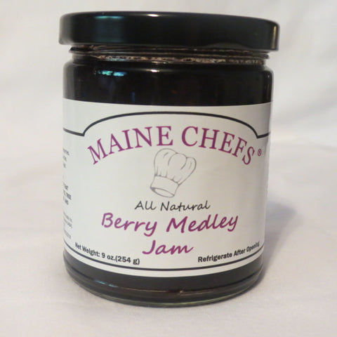 Maine Chefs Berry Medley