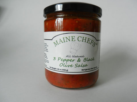 Maine Chefs 3 Pepper & Black Olive