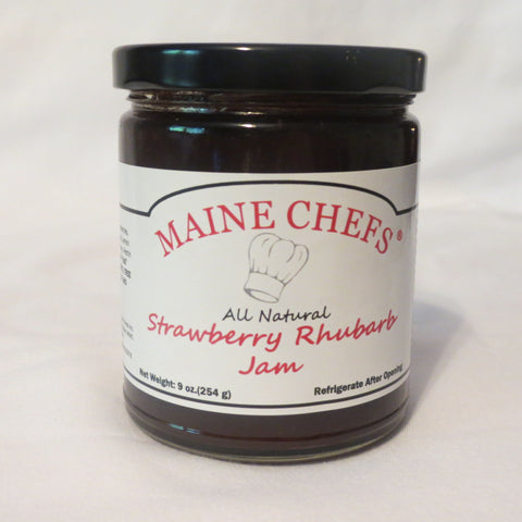 Maine Chefs Strawberry Rhubarb