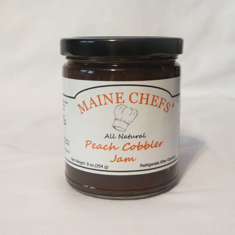 Maine Chefs Peach Cobbler