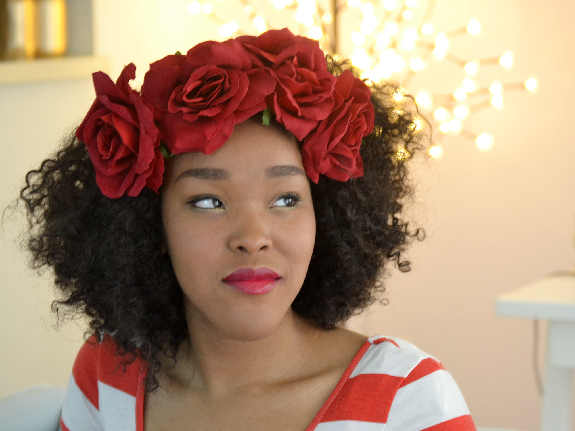 How to Be a Princess featuring our Red Rose Crown
