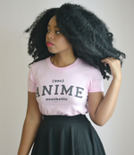 "Adorned By Chi ""90s Anime Aesthetic"" Athletic Inspired Short sleeve women's t-shirt (MORE COLORS)"