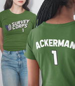 "Adorned By Chi ""Ackerman Survey Corps Team Jersey"" Short-Sleeve Unisex T-Shirt"