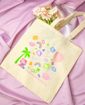 Adorned by Chi x Hello Kitty Tote Bag