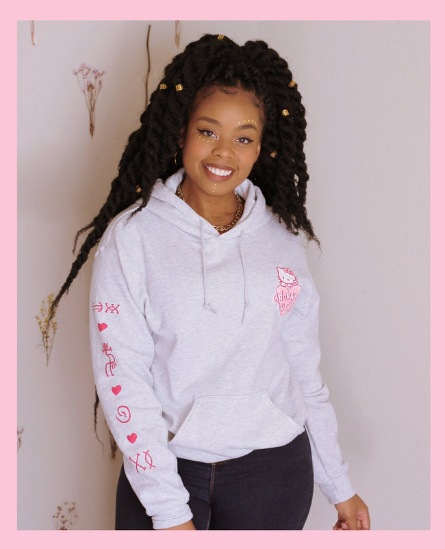 Adorned By Chi Adorned by Chi x Hello Kitty Unisex Sweatshirt
