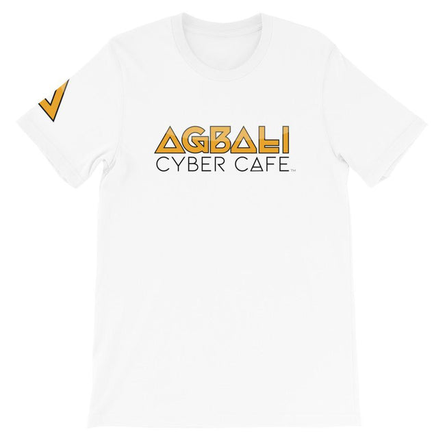 Adorned By Chi XS Agbali Cyber Cafe Short-Sleeve Unisex T-Shirt