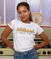 Agbali Cyber Cafe Short-Sleeve Unisex T-Shirt