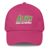 """Alien from Outerspace"" Dad hat (More Colors)"
