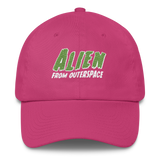"Adorned By Chi Bright Pink ""Alien from Outerspace"" Dad hat (More Colors)"