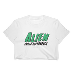 "Adorned By Chi S ""Alien From Outerspace"" Women's Crop Top"