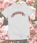 "Adorned By Chi ""Awkward"" Cute Banner Short sleeve women's t-shirt"