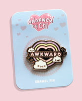 Awkward Hard Enamel Pin